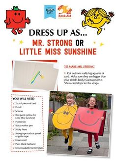 World Book Day what to wear - Great costume ideas here for World Book Day on 5 March. Share your best costumes and how you made t - Book Characters Dress Up, Character Dress Up, Book Character Costumes, Book Costumes, World Book Day Costumes, Book Week Costume, Halloween Costumes, Diy Costumes, World Book Day Ideas