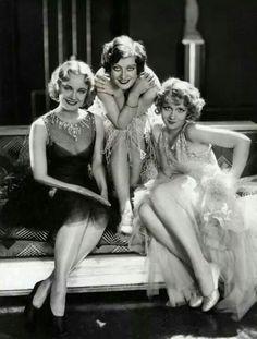 Josephine Dunn, Joan Crawford, Anita Page (MGM 1929)