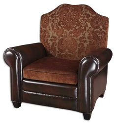 Gentry Armchair in Faux Leather - traditional - chairs - by Build Dining Room Chair Cushions, Sofa Chair, Plastic Patio Chairs, Cream Living Rooms, Traditional Chairs, Comfortable Office Chair, Patterned Armchair, Velvet Armchair, Take A Seat