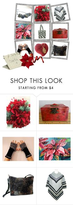 """Handmade Stocking Stuffers & Gifts"" by funnfiber ❤ liked on Polyvore"