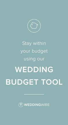 Easily Stay Within Your Budget Using Our Free Wedding Budget