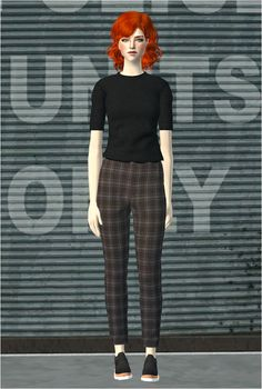 Always Sims: Basic Trousers II - AF