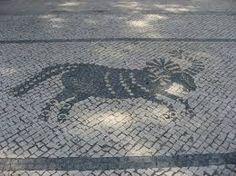 Image result for calçada portuguesa como fazer