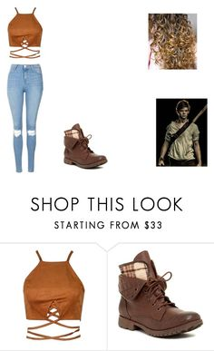 """""""Newt meeting Mikaela"""" by leah-holly-walker ❤ liked on Polyvore featuring Rock & Candy, Topshop and Paul Brodie"""