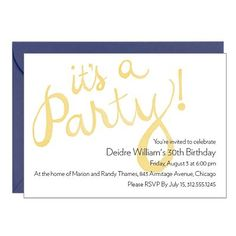 Party Invitations | Paper Source