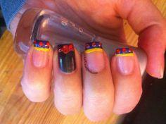 Snow White nails Snow White Nails, Snow White Outfits, Disney Inspired Nails, Gel Nails, Manicure, Disney Princess Snow White, Gel Nail Colors, Video Pink, Least Favorite