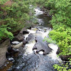 Presque Isle River Waterfalls | Porcupine Mountains, MI