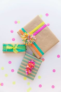 A Kailo Chic Life: Wrap It - Colorful Gift Wrap Round-up
