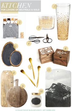 Golden Gifts!      HeyLook http://blog.heylook.fi/search/label/holiday%20inspiration