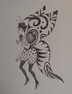 ViolanteVibora: Ragazza farfalla