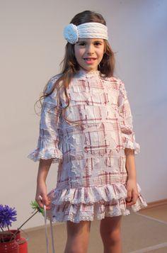 Vestido con volantes primaveral. Sylvia Marie handmade.