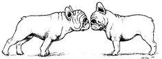 french bulldog coloring pages Bulldog Drawing, Bulldog Tattoo, French Bulldog Art, French Bulldogs, Bulldog Images, Silhouette, France, Art Sketches, Fur Babies