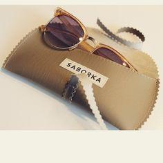 Handmade sunglasses-case Sunglasses Case, Ray Bans, Handmade, Style, Hand Made, Craft