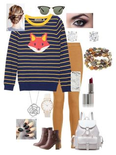 """""""Foxy faux"""" by paytton-white on Polyvore featuring Parisian, BERRICLE, Charlotte Russe, Ray-Ban and Hipchik"""
