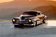 Barry Weiss' Cowboy Cadillac---   Barry has the coolest cars...