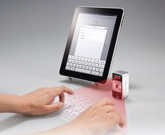 Laser Keyboard - To all the writers out there: Do you think you would use this or do you need some form of tactile feedback?
