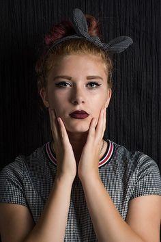 Free Image on Pixabay - Girl, Portrait, Nostalgia, Retro Eyeliner Pen, Black Eyeliner, Free Pictures, Free Images, Girl Beanie, Makeup Cosmetics, Girl Group, My Girl, Nostalgia