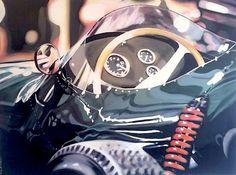 CAY Broendum: peinture de voiture de course