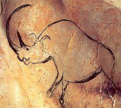 Pinturas de la cueva de Chauvet (Francia) del Paleolítico 40,000-10,000 aC, descubiertas en 1994