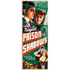 Prison Shadows Canvas Art - (24 x 36)