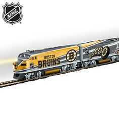 Keep your Bruins pride chuggin' with this officially-licensed tribute.