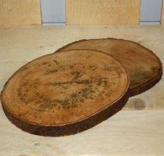 Gebruik jij deze schijf boom als snijplank? Fair Trade-product. € 6,95 per stuk