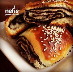 Pastiç (Tam Tutan İzmirin Sevilen Çöreği) - Nefis Yemek Tarifleri Cake Shop, Nom Nom, Bread, Cookies, Breakfast, Desserts, Recipes, Food, Gourmet