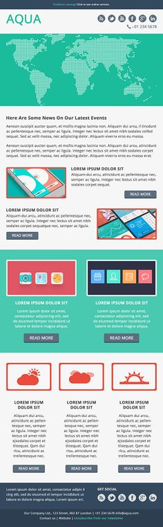 Gusto  Email Template Html Email Marketing Design   Pinteres