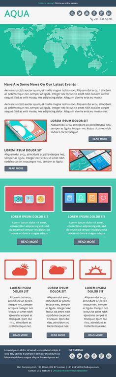 Responsive email design | email design swipe file | Pinterest ...