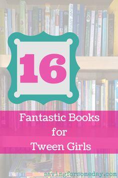Books for tween girls