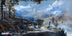 FarCry4 Concept Art - Opening Shot by Donglu Yu | Illustration | 2D | CGSociety