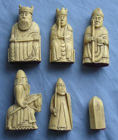 Lewis Chessmen – a collection of chess pieces, handcrafted in the 12th century