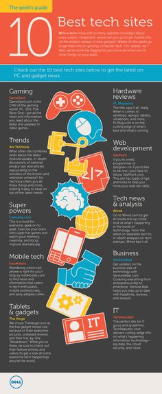 The Geek's Guide: 10 Tech Sites You Shouldn't Live Without.  Via Business 2 Community