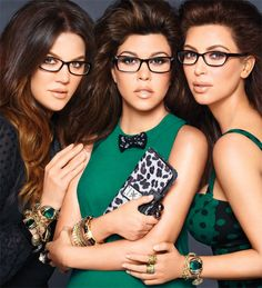 Kardashian sisters launch a line of optical frames