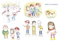 Adribel - ilustraciones: ¡Más novelitas infantiles!