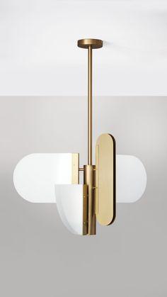 Brass Pendant Light, Modern Pendant Light, Pendant Lamp, Pendant Lighting, Geometric Pendant Light, Ceiling Pendant, Lighting Uk, Strip Lighting, Modern Lighting