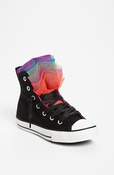 super cute!!!!! Converse Chuck Taylor® All Star® 'Party' Sneaker (Toddler, Little Kid & Big Kid) available at #Nordstrom Cute Converse, Converse All Star, Black Converse, Converse Chuck Taylor All Star, Star Party, Dream Shoes, Big Kids, Shoe Game, Me Too Shoes