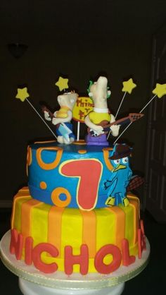 Phineas and ferb! Totally amazing!  Deb's