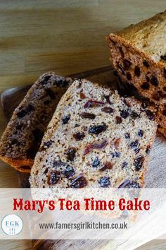 Mary's Tea Time Cake is a traditional tea loaf. The dired fruit is soaked overnight in tee then mixed with the rest of the ingredients and baked. It's the perfect cut and come again cake Mary Berry Tea Loaf, Mary Berry Fruit Cake, Mary Berry Recipes Afternoon Tea, Berry Cake, Mary Berry Baking, Homemade Cake Recipes, Tea Recipes, Sweet Recipes