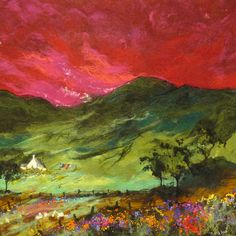 The Highland Dream - Moy Mackay Gallery  Felting inspiration