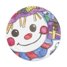 Winter Time Friends - Mouse and a Snowman Paper Plate Head Start, Winter Time, Paper Plates, Party Hats, Funny Cute, Snowman, Holiday, Christmas, Birthday Parties