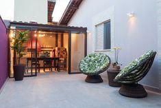 4 Fabulosas Residências – Habitare Wooden Garden Edging, Loft, House Design, Patio, Outdoor Decor, Garage, Home Decor, Log Projects, Arquitetura