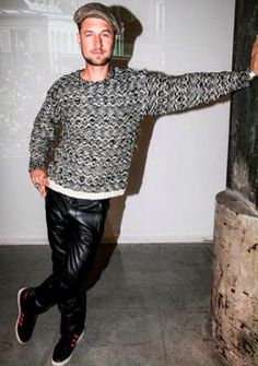 Sebastiaan Labrie wearing Isabel Marant for H&M