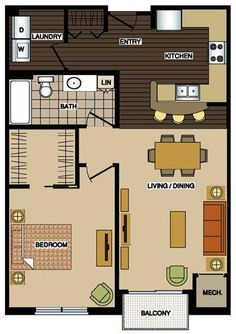 Station 38 Apartments in Minneapolis, Our new: the lay out!!! I love it.