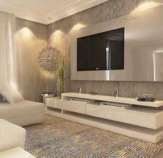50+ Unique TV Wall Living Room Inspirations