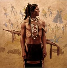 native american art by james ayers | About Native Americans: About the Shoshone Indian Tribes