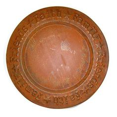 Craft Outlet Faith-Family-Friend Dish Color: