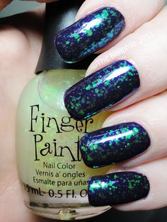 Finger Paints: Flecked...I want it so bad...but can't find it. :(