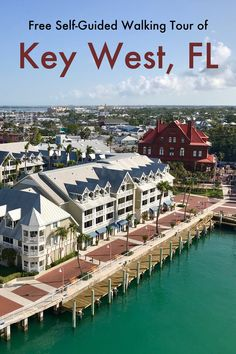 Free Self-Guided Walking Tour of Key West, Florida. The island of Key West is easily walkable and packed with sights. Florida Travel, Florida Keys, Travel Usa, Fl Keys, Key West Florida Map, Travel Tips, Travel Advise, Travel Checklist, Florida Vacation