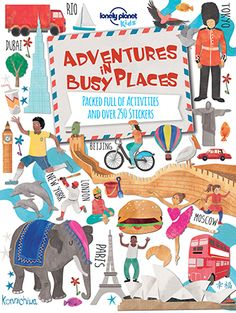 Lonely Planet Kids- Adventures in busy places